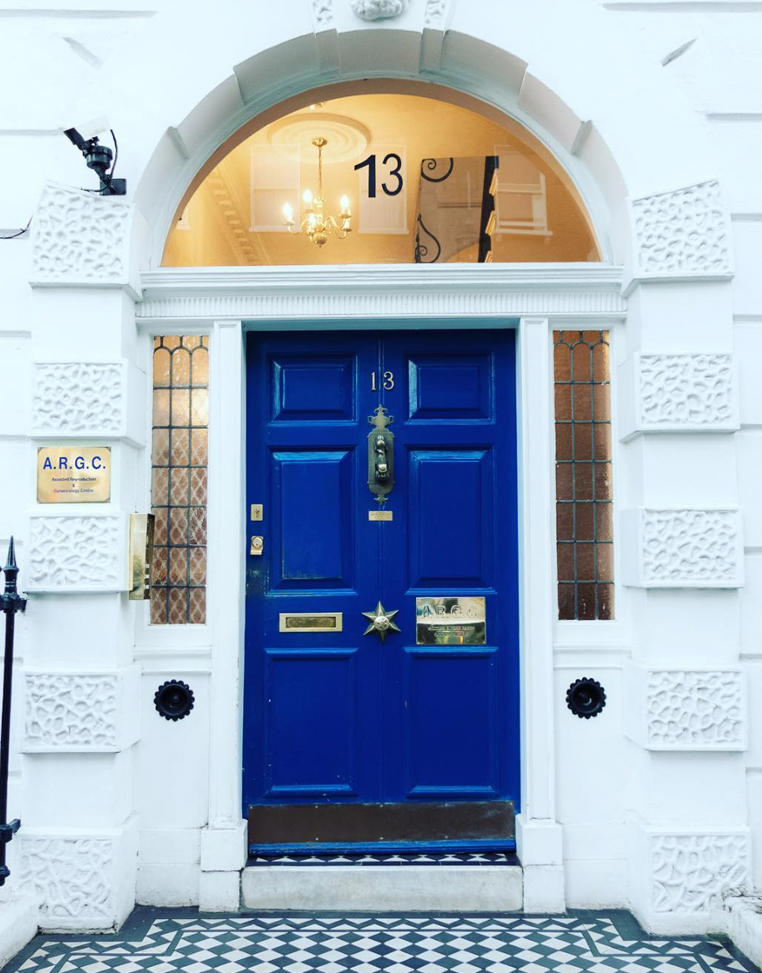 ARGC blue door