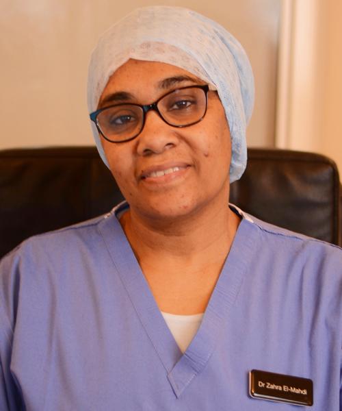 Dr Zahra El Mahdi
